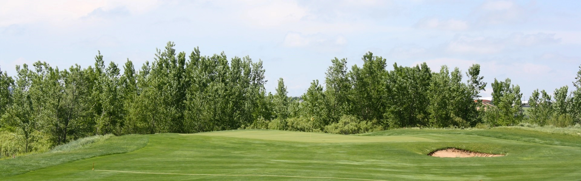 Comanche Trails golf green
